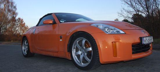 Nissan 350Z - pomarańczowy roadster za nieco ponad 200 tysiecy złotych