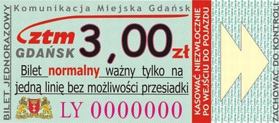 Tak będzie wyglądał nowy bilet jednorazowy.