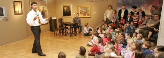 Ubiegłoroczna Noc Muzeów przyciągnęła  nie tylko dorosłych zwiedzających.