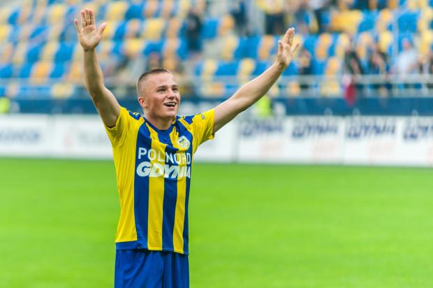 Michał Nalepa jako jedyny z trójmiejskich piłkarzy powołanych do kadr narodowych był debiutantem, a mimo to wywalczył sobie miejsce w podstawowym składzie reprezentacji Polski do lat 20.