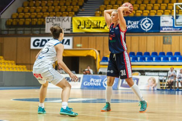 Tatiana Troina pokazała w Toruniu, że w nowym sezonie będzie jedną z liderek ataku Basketu Gdynia.