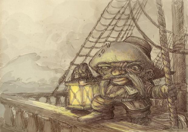 Klabaternik, dobry duszek każdego statku.
