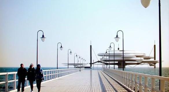 Water Discus - taki futurystyczny obiekt mógłby powstać w partnerstwie publiczno-prywatnym np. przy molo w Brzeźnie.