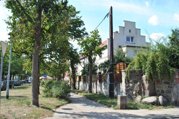 Jedne z pierwszych domów powstałych w ramach Schuposiedlung - przy ul. Karola Szymanowskiego.