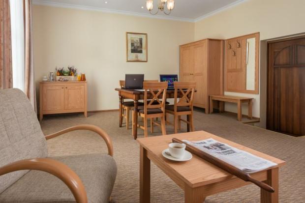 Pokój spotkań biznesowych w Hotelu Villa Sedan w Sopocie.