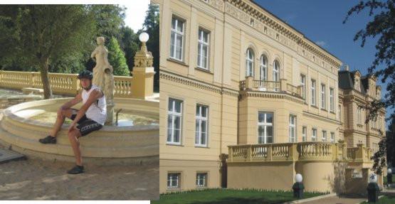 Przepięknie położony zespół pałacowo-parkowy w Ostromecku