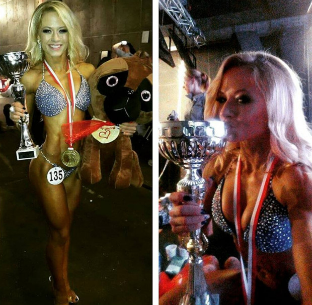 Katarzyna Dziurska po sukcesie w mistrzostwach świata w kulturystyce i fitness.