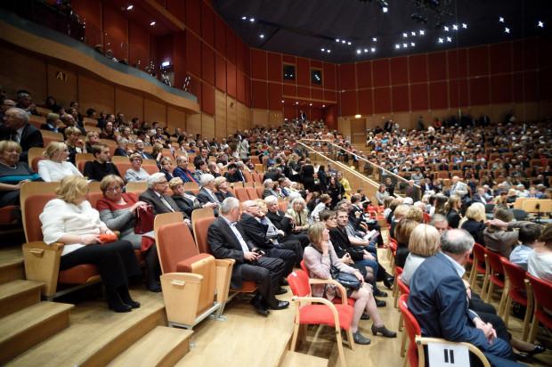 Koncert Dmitrija Szyszkina cieszył się ogromnym zainteresowaniem publiczności.