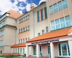 Budynek Wydziału Zamiejscowego SWPS w Sopocie