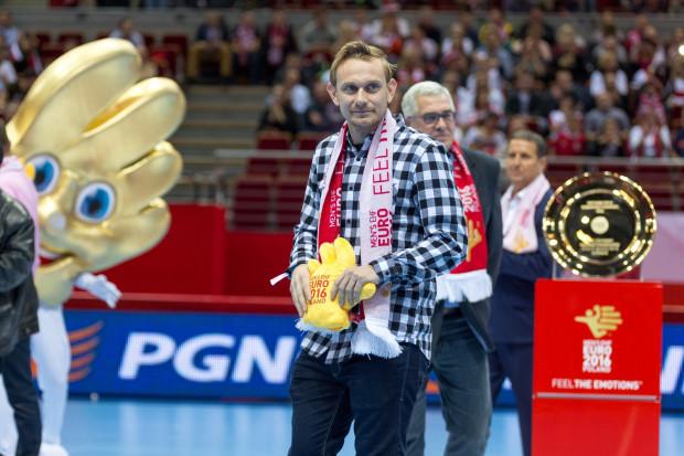 Sebastian Mila w niedzielę kibicował polskim szczypiornistom w Ergo Arenie podczas meczu z Hiszpanią.