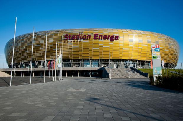Tak nowe logo będzie prezentowało się na fasadzie stadionu. Montaż nastąpi w ciągu dwóch miesięcy.
