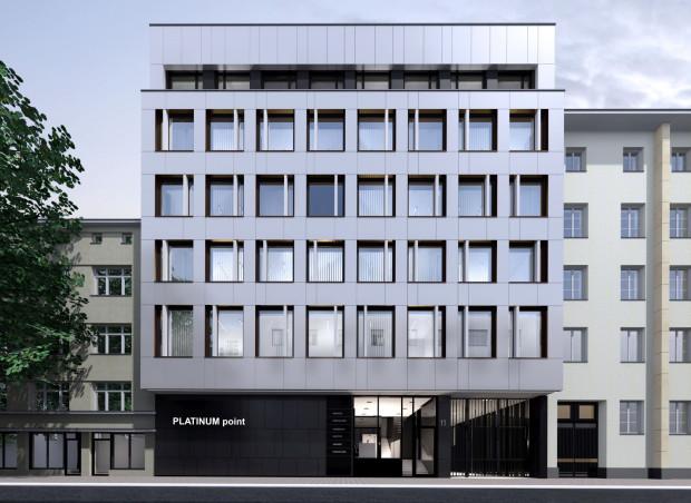 Tak zmieni się budynek przy ul. Zygmunta Augusta 11, w którym powstaną biura.