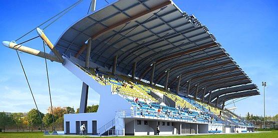 Tak ma wyglądać gdyński stadion rugby w październiku 2009 roku.
