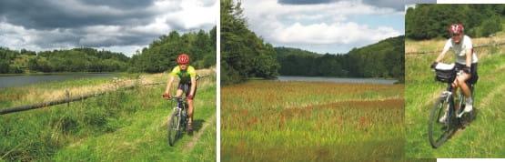 Szlaki rowerowe gminy Przywidz są godne uwagi i wariantów sporo. Ahhh, terzeba bedzie tu wrócić!