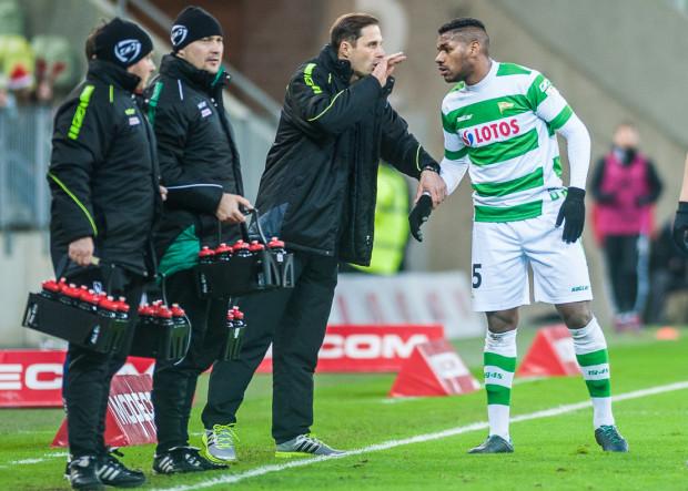 Gerson najwyraźniej najuważniej słuchał wskazówek Dawida Banaczka, gdyż to gol obrońcy zapewnił Lechii wygraną nad Śląskiem.