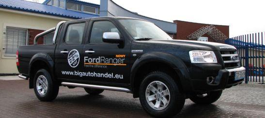 Ford Ranger - po prostu mechaniczny koń roboczy