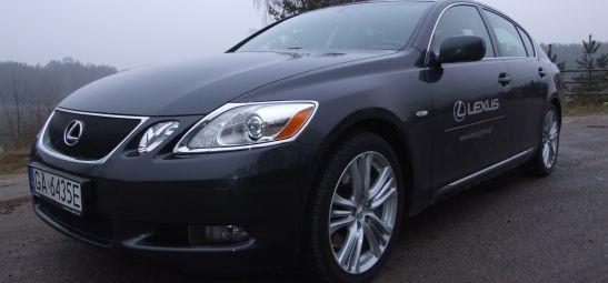 """Lexus GS 450h - zaawansowana technologicznie """"hybryda"""" klasy premium"""