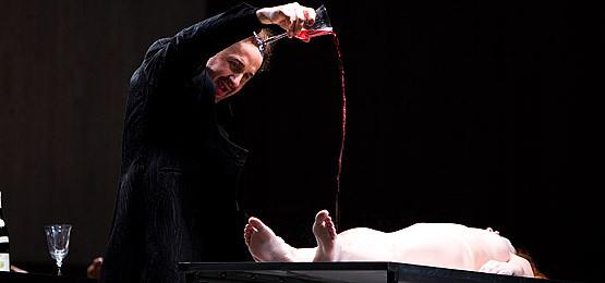 Mikołał Zalasiński w roli Don Giovanniego
