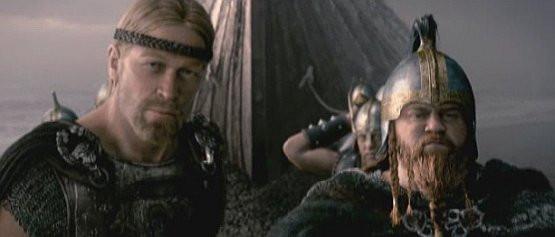 """Kadr z filmu """"Beowulf""""."""