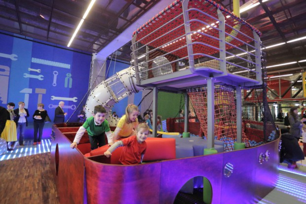 Otwarcie Wydziału Zabaw w Europejskim Centrum Solidarności.