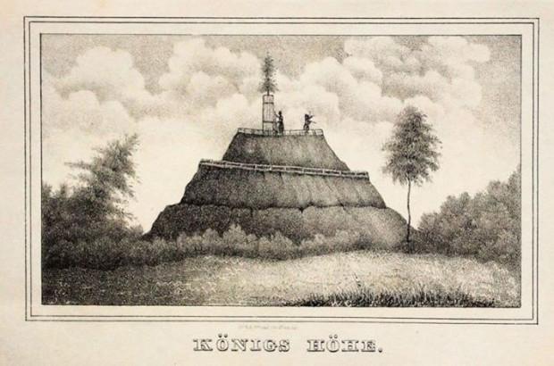Na zachodnim stoku Królewskiego Wzgórza zbudowano tor saneczkowy, czynny do lat 70. XX w.