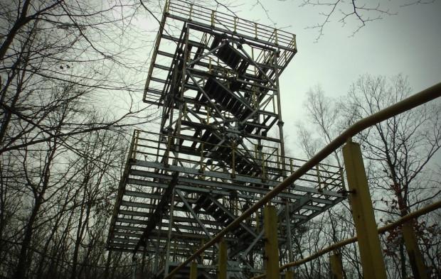 Wieża na Witominie jest nieużytkowana od końca lat 90.