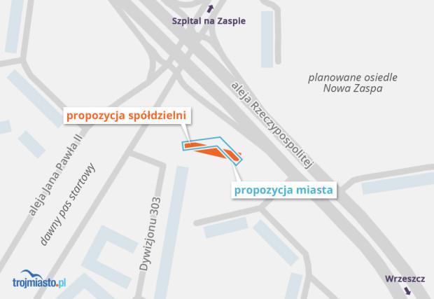 Lokalizacja inwestycji spółdzielni Młyniec.