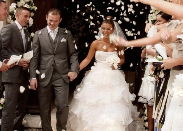 Wayne Rooney i Coleen McLoughlin.