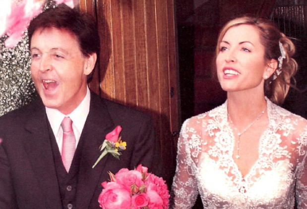 Heather Mills i Paul McCartney.