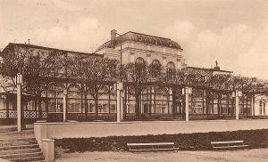 Hala Plażowa po przebudowie w latach trzydziestych XX wieku