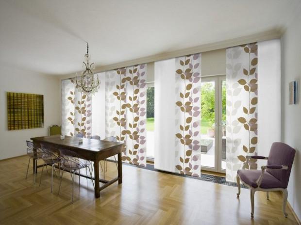 Dobór osłon w dużej mierze zależy od wystroju wnętrza oraz rodzaju okien jakie mają zostać przesłonięte.