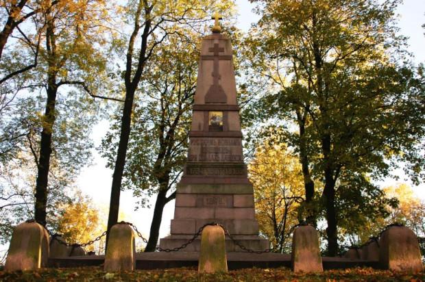 Pomnik żołnierzy rosyjskich poległych podczas kolejnych walk o Gdańsk.