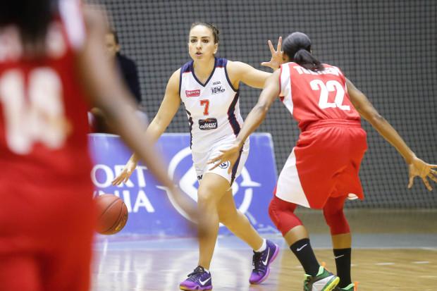 Katarzyna Suknarowska i jej koleżanki z Basketu pokonały w hali GCS Wisła Can-Pack Kraków. W sobotę, w tym samym obiekcie zmierzą się z rywalkami z Gorzowa Wielkopolskiego.