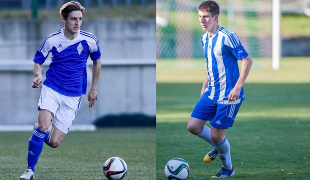 Tomasz Gródek (z lewej) i Paweł Rasmus (z prawej) zdecydowali się na udział w piłkarskim programie telewizyjnym. Koliduje on jednak z występami w Bałtyku.