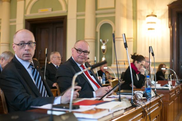 Grzegorz Strzelczyk Sesja Rady Miasta Gdańska