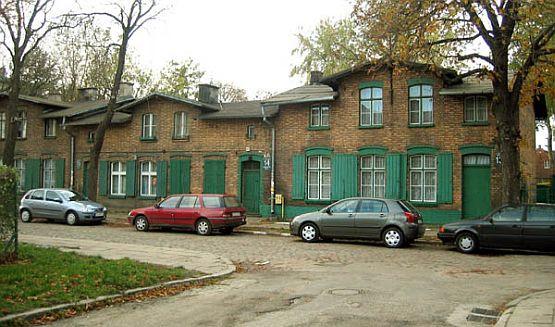 Fundacja Abegga stawiała domy w wielu dzielnicach Gdańska, m.in. przy ul. Wilków Morskich w Nowym Porcie.