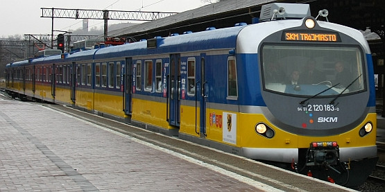 SKM-ka jak metro jeżdzi już po Trójmieście; Gdańsk, Gdynia ...
