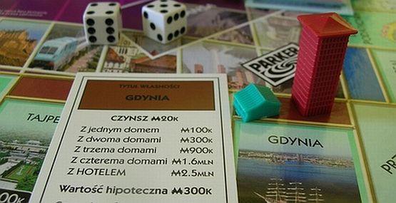 Od momentu kiedy Gdynia znalazła się na planszy Monopoly popularność tej gry wyraźnie wzrosła wśród mieszkańców.