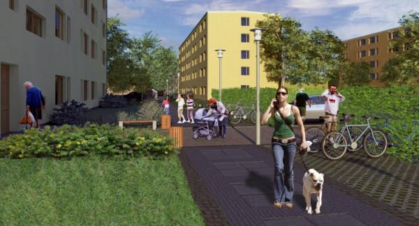 Przemiana okolic ulic Zamenhofa i Opata Hackiego w Chyloni jest planowana od dawna. Na razie efekty można oglądać na wizualizacjach.