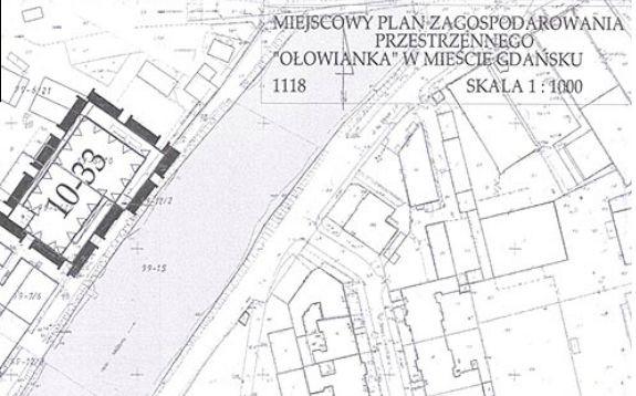 Aktualny plan zagospodarowania przestrzennego dla fragmentu Ołowianki, nie dopuszcza tam ustawienia 60-metrowego koła widokowego. Zmiana planu zajmuje ok. 1,5 roku.