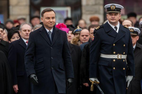 Przed przyjazdem do Gdyni, prezydent Andrzej Duda odwiedził Puck.