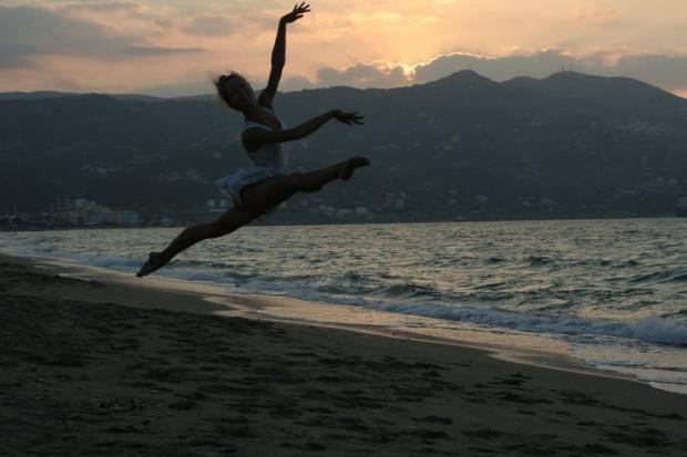 Nie potrafię żyć bez tańca - mówi Vilde Valldal Johannesen.