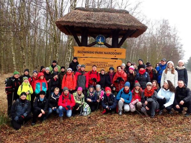 Dzień Zakochanych spędziliśmy na wędrówce po najpiękniejszych wydmach Słowińskiego Parku Narodowego