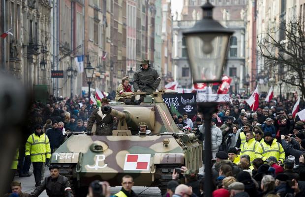 W zeszłym roku Krajowa Defilada Pamięci Żołnierzy Wyklętych przyciągnęła tysiące mieszkańców Gdańska.