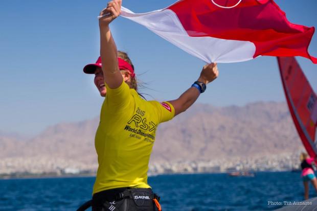 Małgorzata Białecka po raz pierwszy w karierze została mistrzynią świata w jedynej, windsurfingowej klasie olimpijskiej.