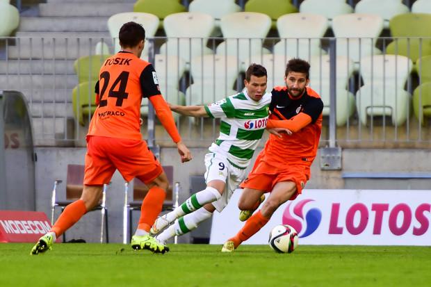 Michał Mak strzelił w tym sezonie w ekstraklasie 6 goli, w tym jednego w zwycięskim meczu z Zagłębiem (3:1) w Gdańsku. Czy w Lubinie będzie powtórka?