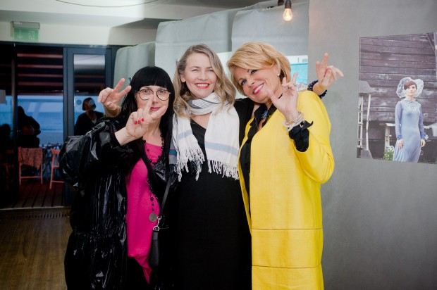 Od lewej: Małgorzata Marczewska i Lidia Popiel - goście tegorocznej edycji Festiwalu Zatoka Kobiet