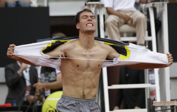 Polska zagra z Argentyną w Pucharze Davisa w Ergo Arenie. Niestety bez Jerzego Janowicza (na zdjęciu), który jest kontuzjowany.
