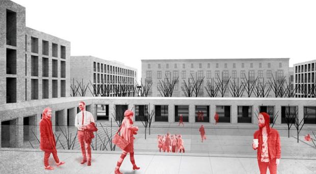 I nagroda w konkursie architektonicznym na nowy kampus Akademii Morskiej.