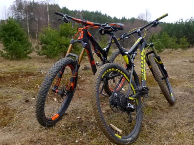 Testowaliśmy rowery Scott Spark 700 i Genius 700 LT Tuned Plus